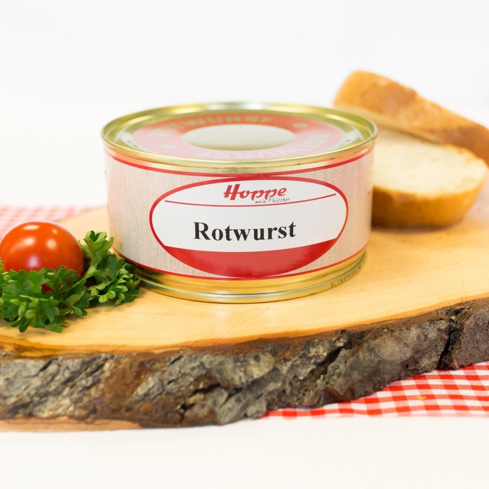 rotwurst in der dose 300 gramm
